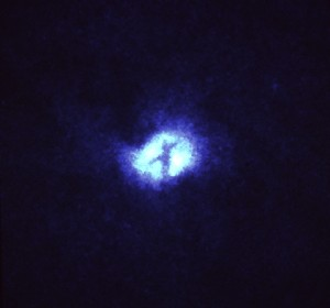 "Officially this is called ""X"" Structure at Core of Whirlpool Galaxy (M51). Unofficially, I call this amazing!"