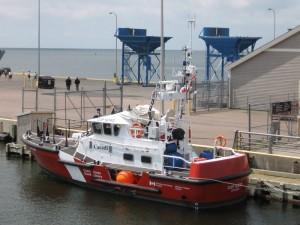 The Coast Guard station next door