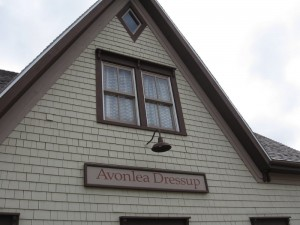 Across the street was a Avonlea Dressup, which we assumed was a dress shop