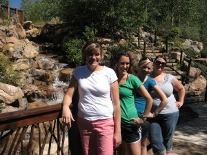 The Betty Ford Garden - the flowers weren't what I expected, but the waterfalls were so cool