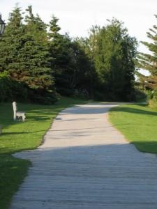 The Rustico boardwalk--2km of beauty